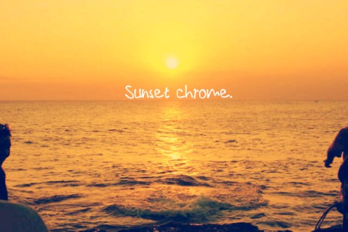 sunsetchrome